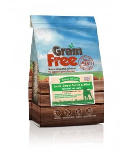 Natural Pet Food Grain Free Jagnięcina z batatami i miętą 12kg
