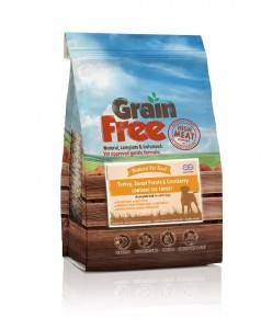 Natural Pet Food Grain Free Indyk z batatami i żurawiną 12kg