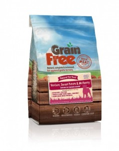 Natural Pet Food Grain Free z Dziczyzną batatami i morwą12kg