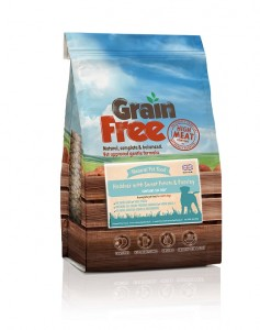 Natural Pet Food Grain Free Biała ryba z batatami i pietruszką 12kg